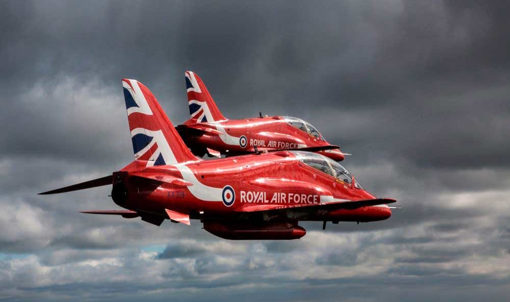 Red Arrows 2018 dates