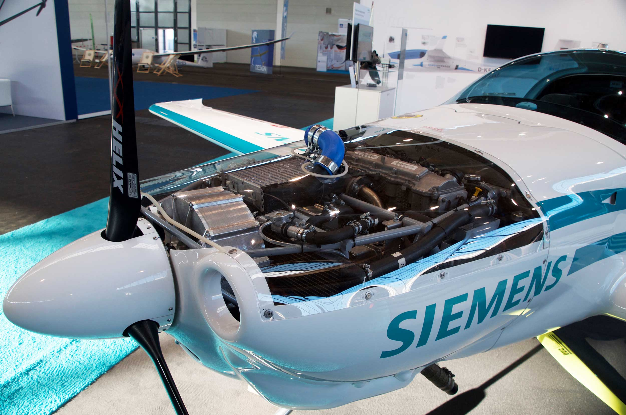 Siemens hybrid electric