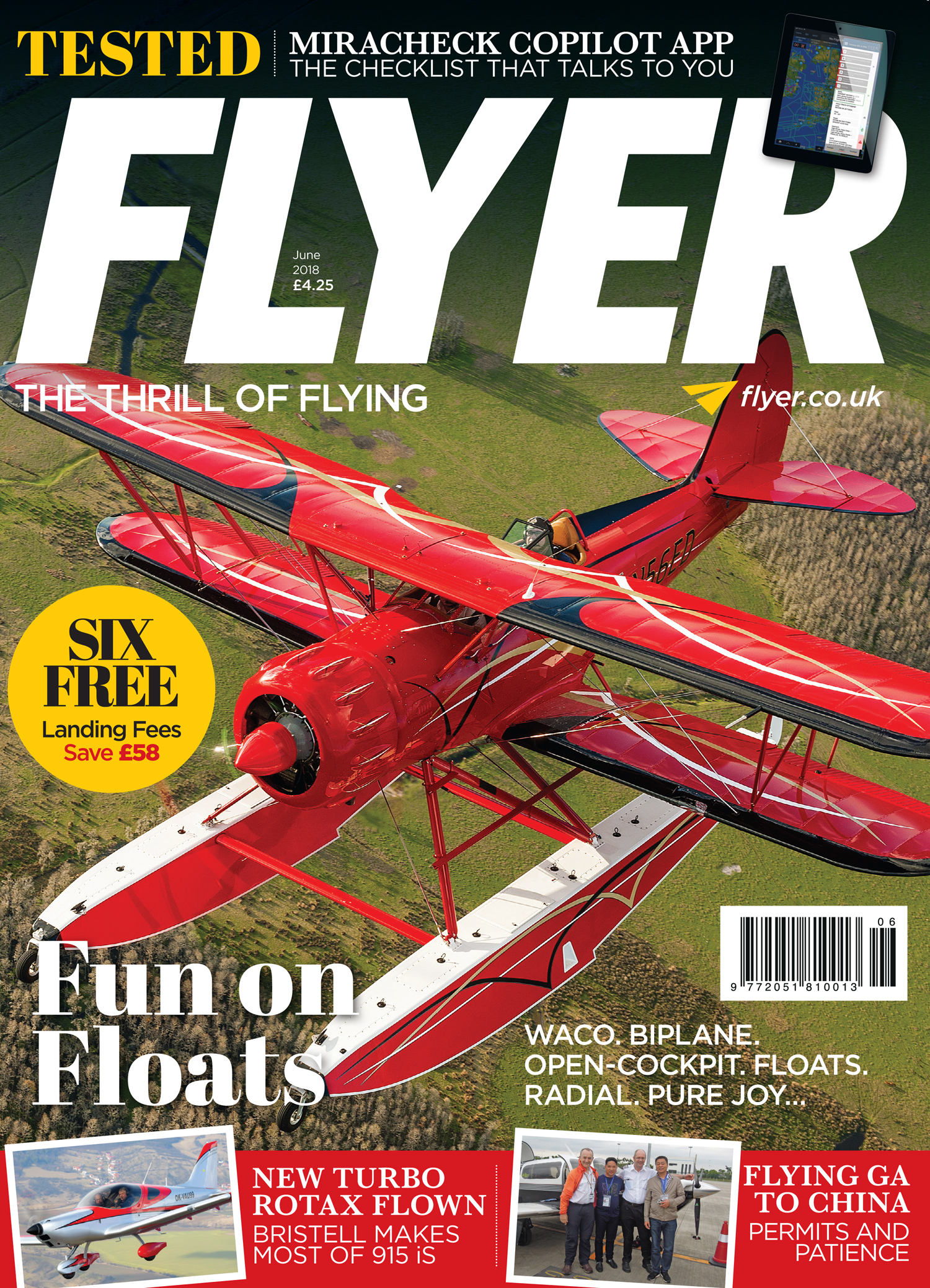 FLYER magazine June 2018