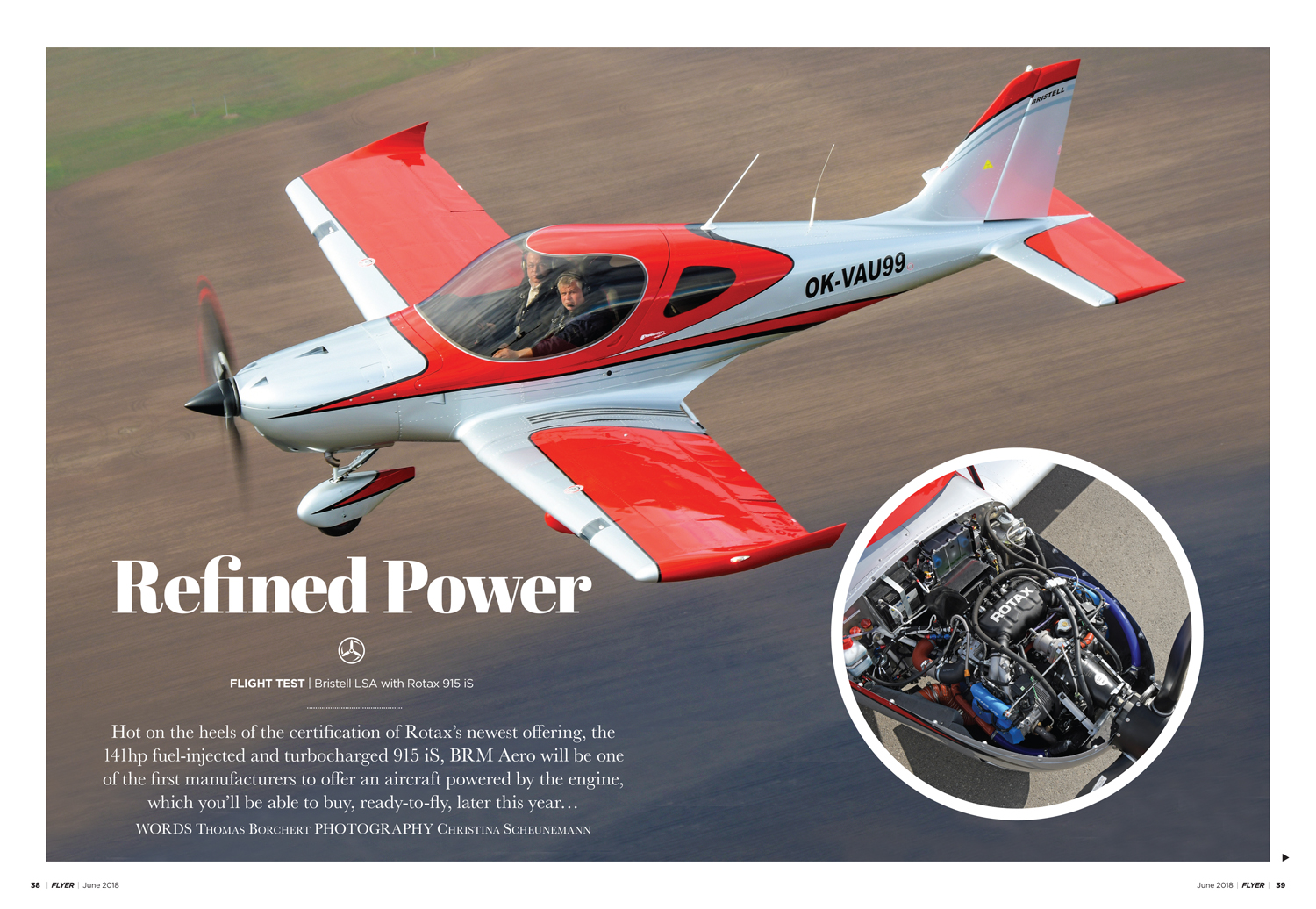 Bristell with Rotax 915