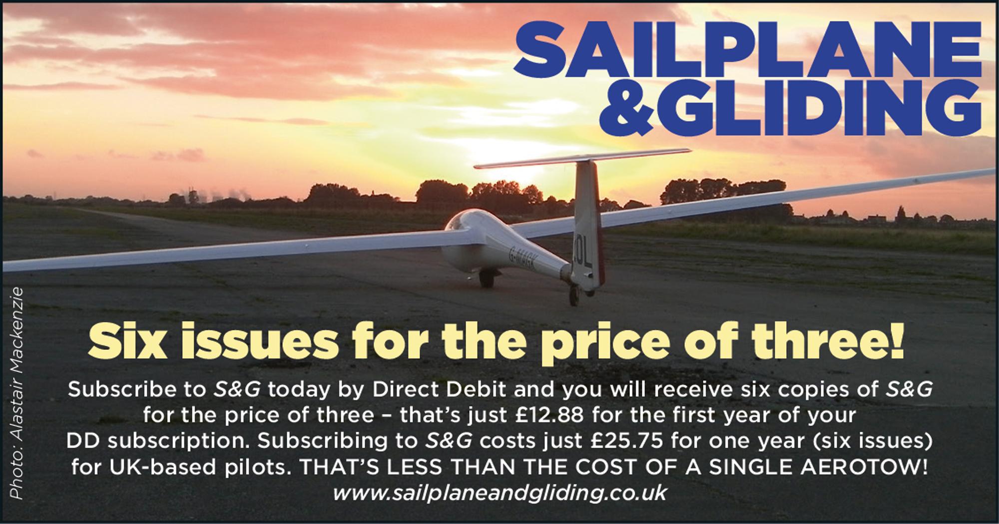 Sailplane and gliding
