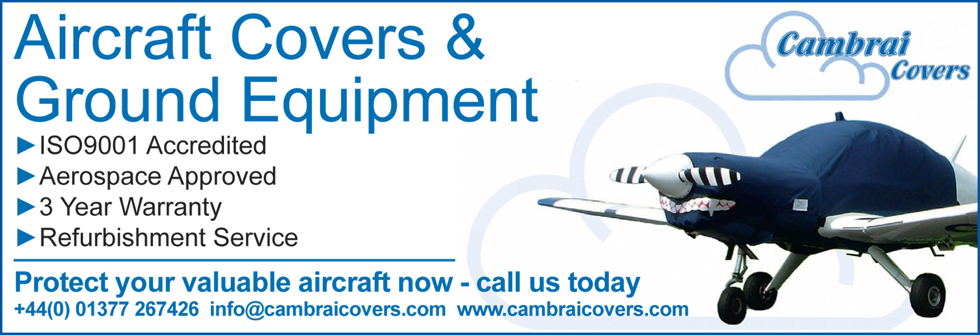 Cambrai aircraft covers