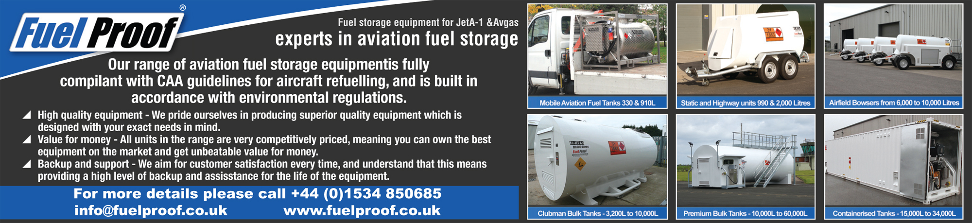 Fuel Proof fuel storage