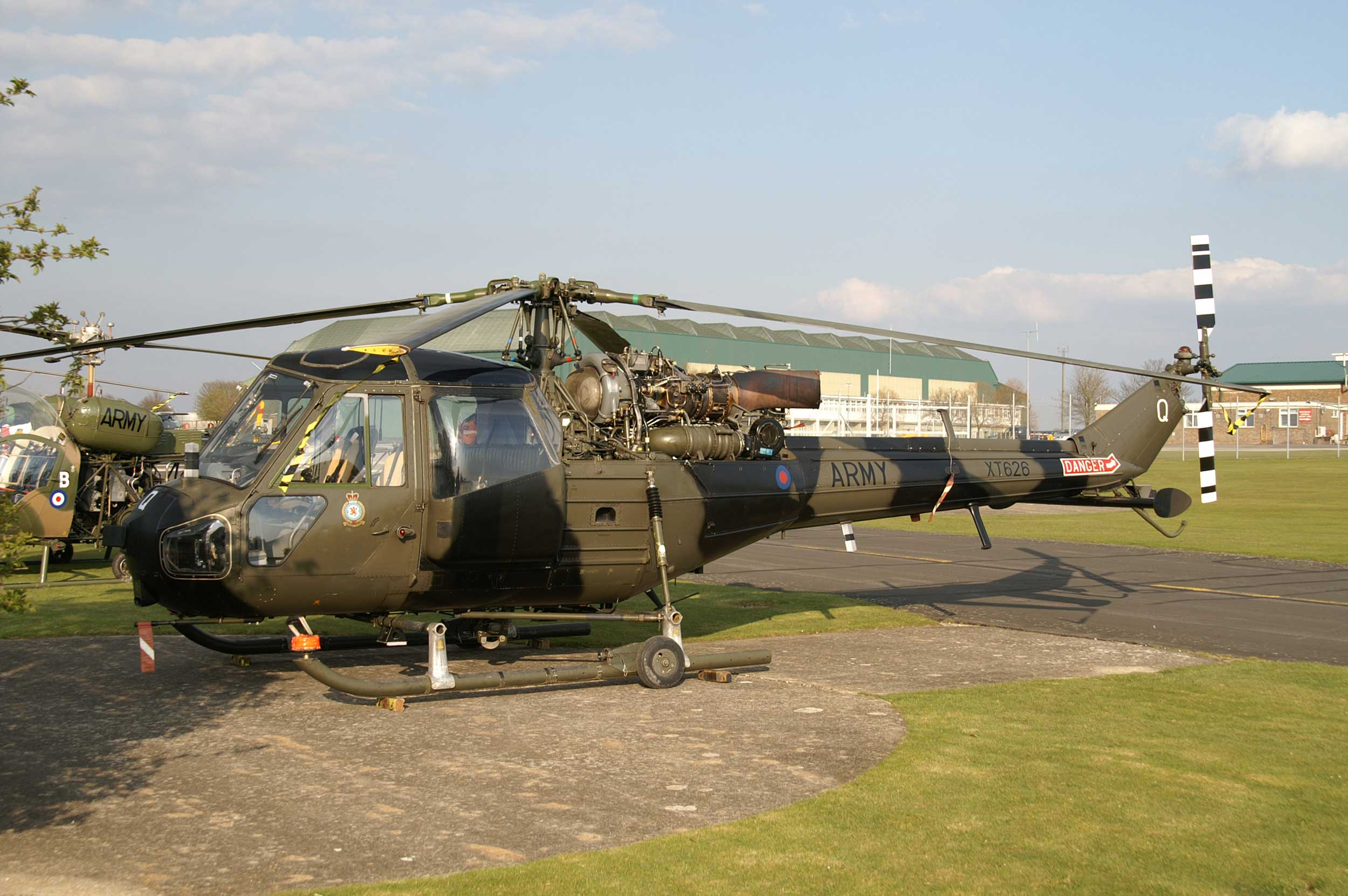 Museum of Army Flying Westland Scout