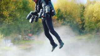 Richard Browning Iron Man jet suit