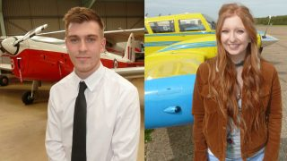 2018 Nick Davidson flying scholarships