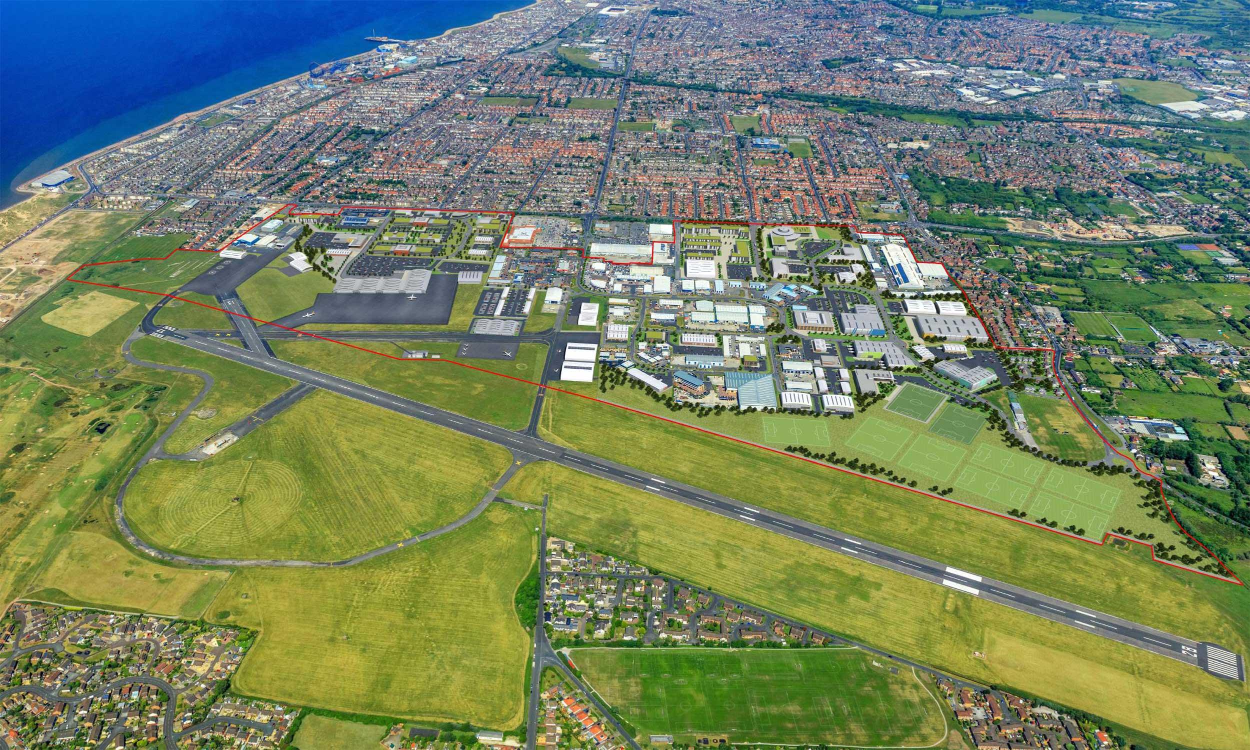 Blackpool Airport masterplan