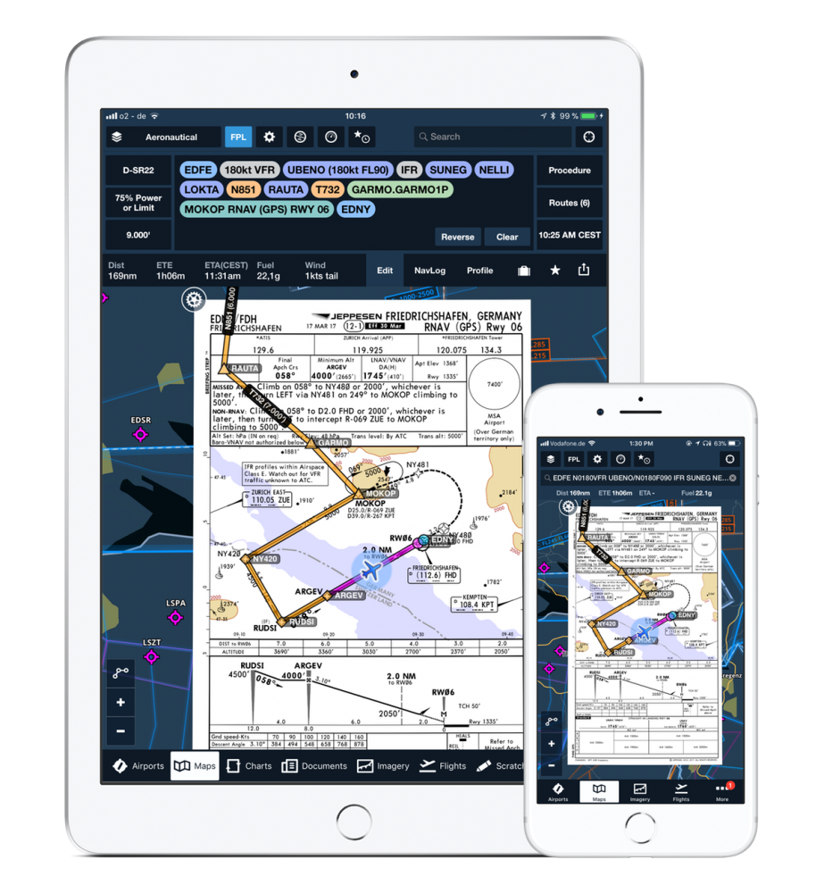 ForeFlight launches navigation app for Europe - FLYER