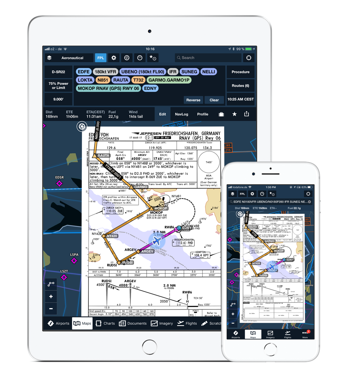 Foreflight Launches Navigation App For Europe Flyer