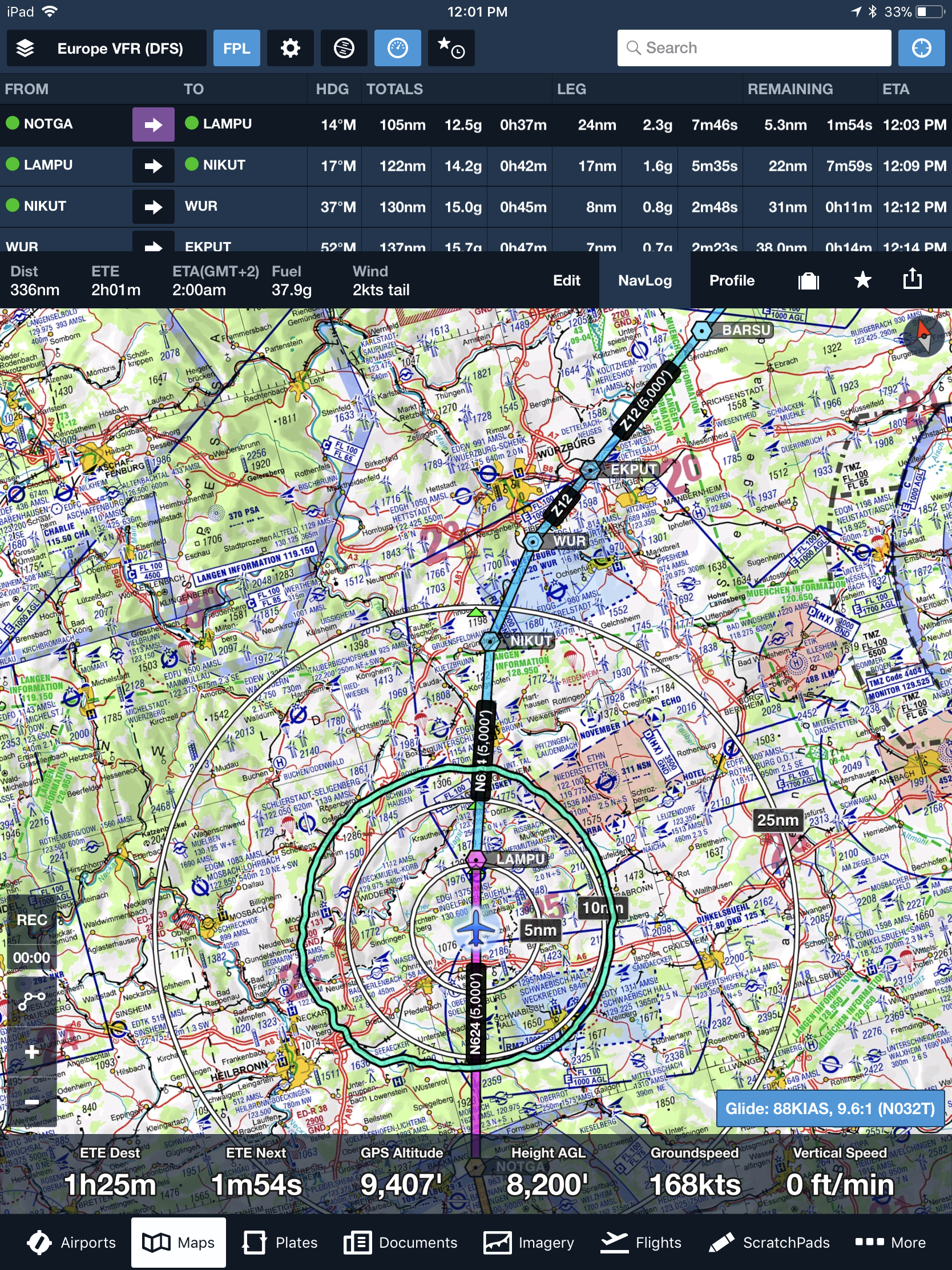Vfr Weather Map.Foreflight Launches Navigation App For Europe Flyer