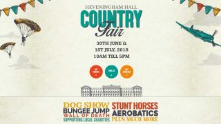 Heveningham Hall Country Fair & Fly-in