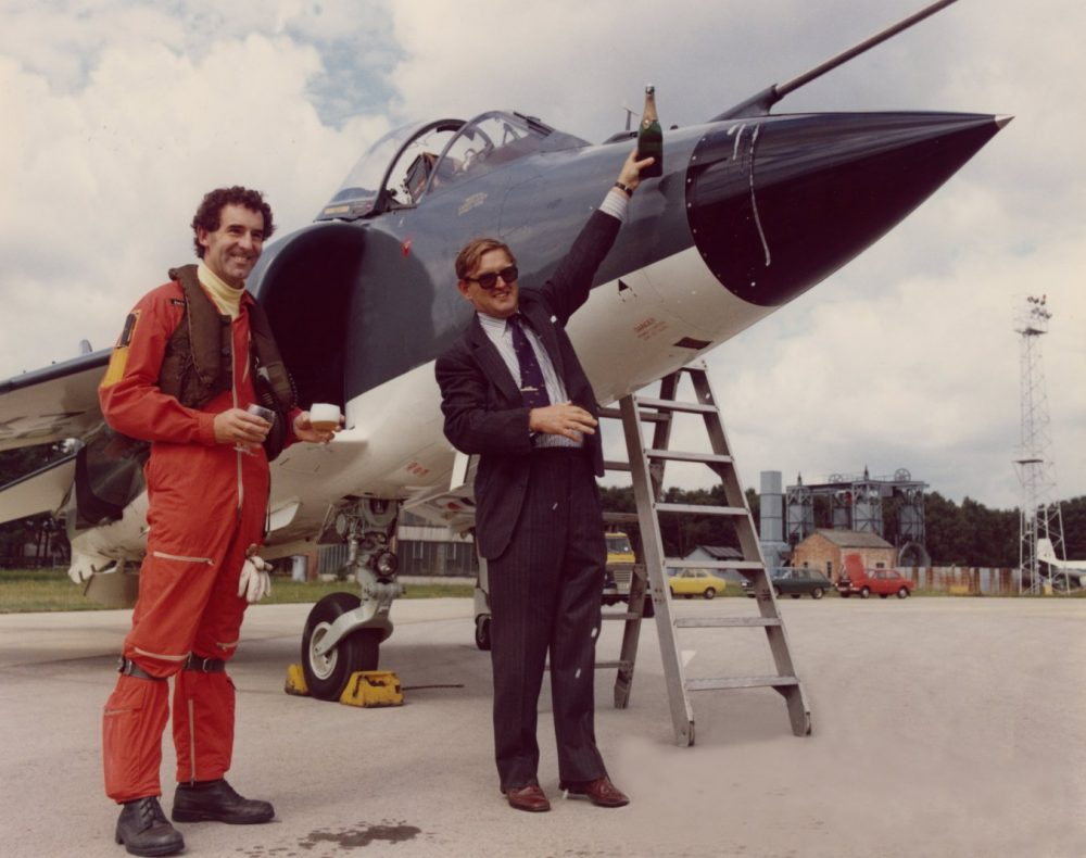 John Farley test pilot Harrier