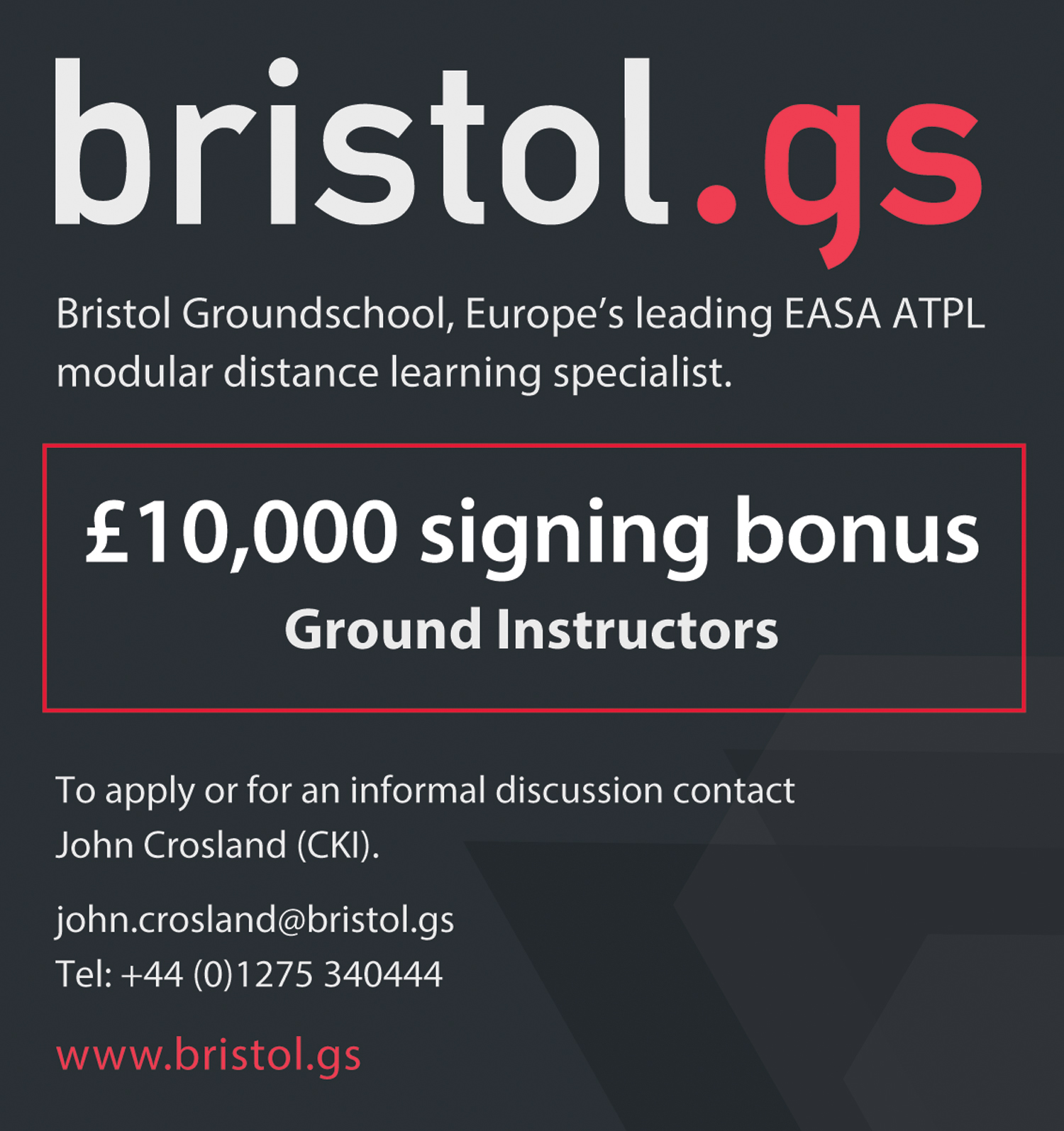 Bristol GS instructors