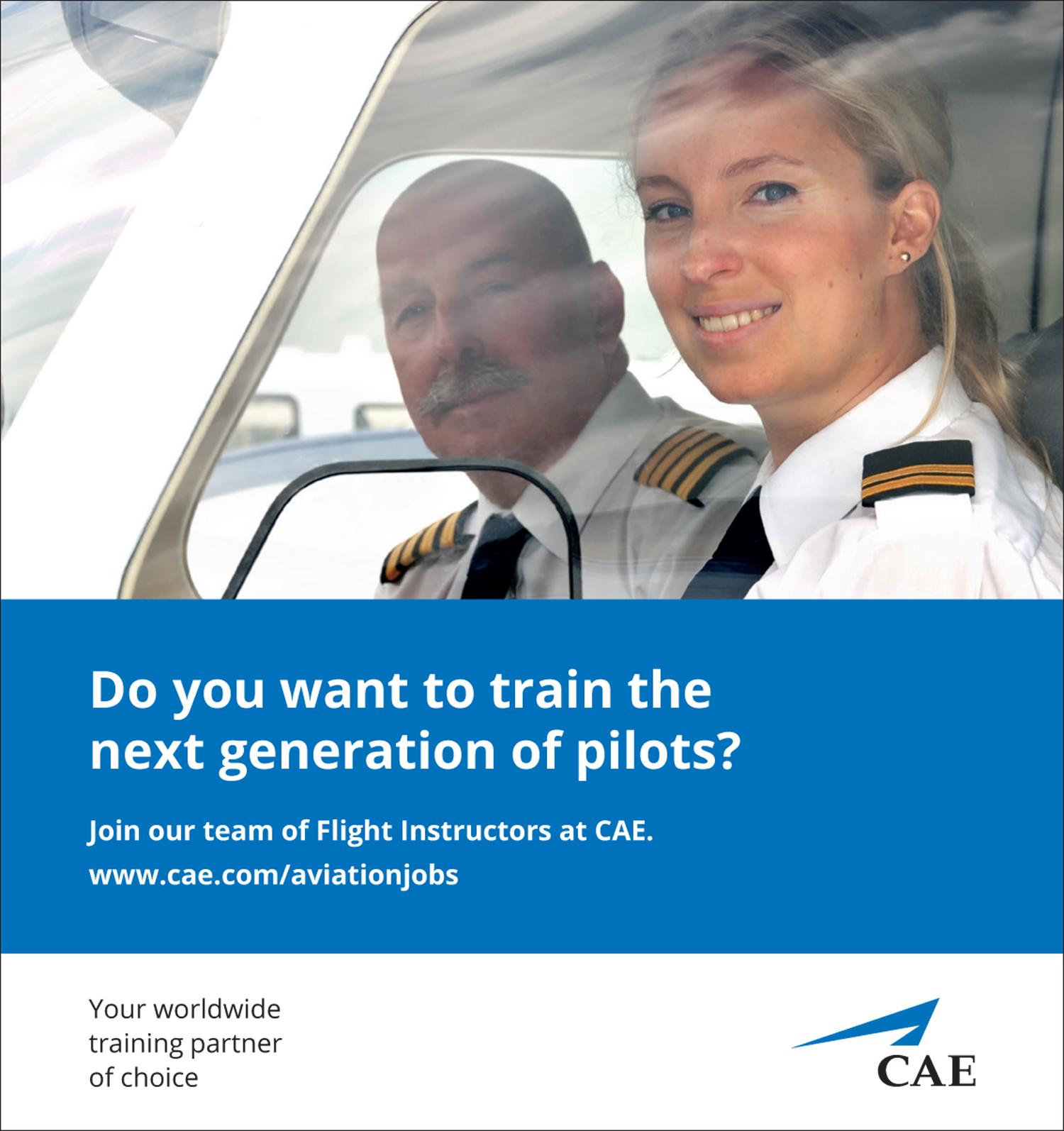 CAE instructors