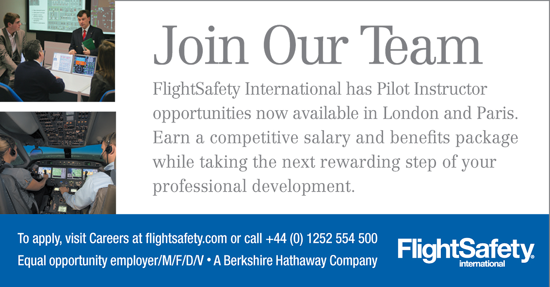 FlightSafety instructors