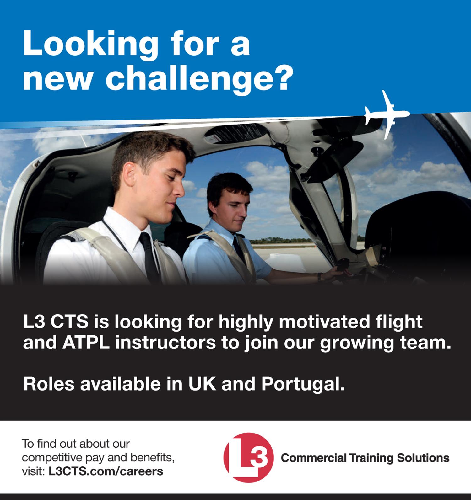 L3 CTS instructors