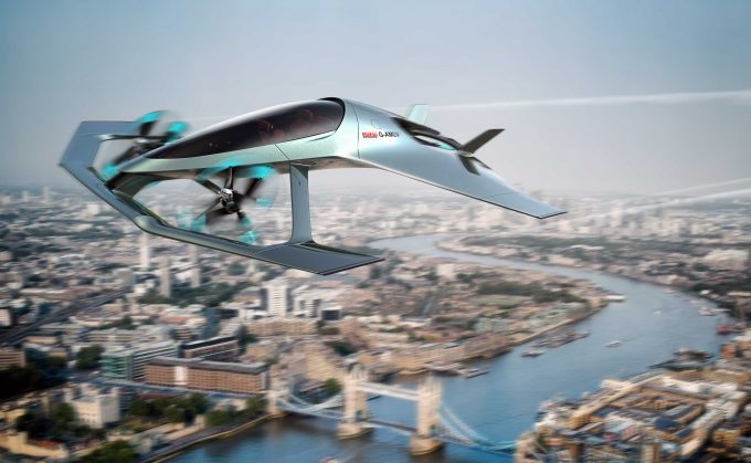 Aston Martin flying car