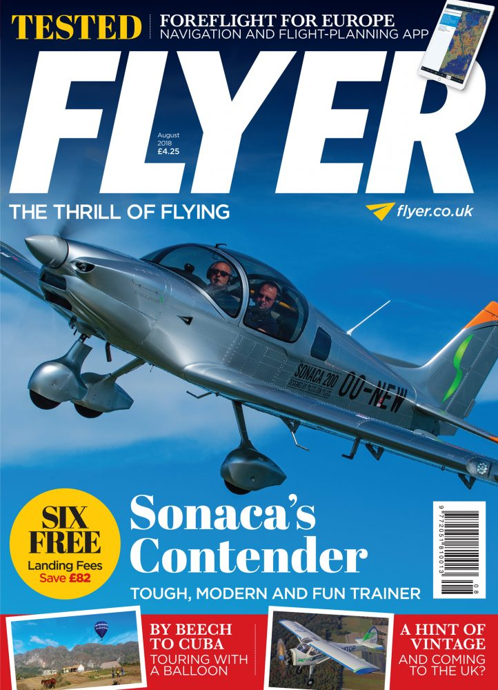 Sonaca 200 flight test