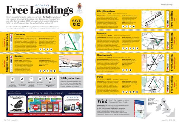Flyer free landing vouchers