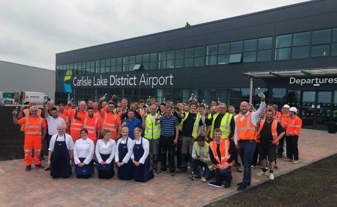 Carlisle Airport re-opens to GA