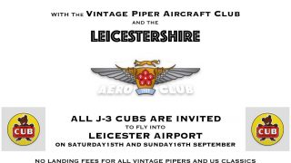 Piper J-3 Cub anniversary 80th