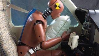 Amsafe aircraft airbag seatbelts