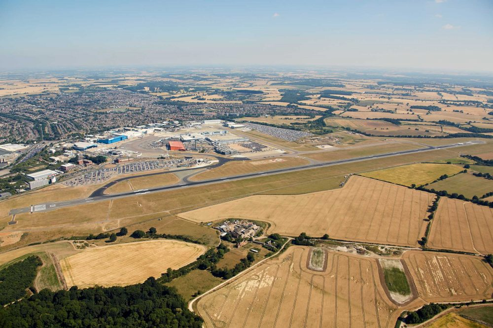 Luton Airport fly-in
