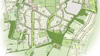 Bourne Airfield masterplan