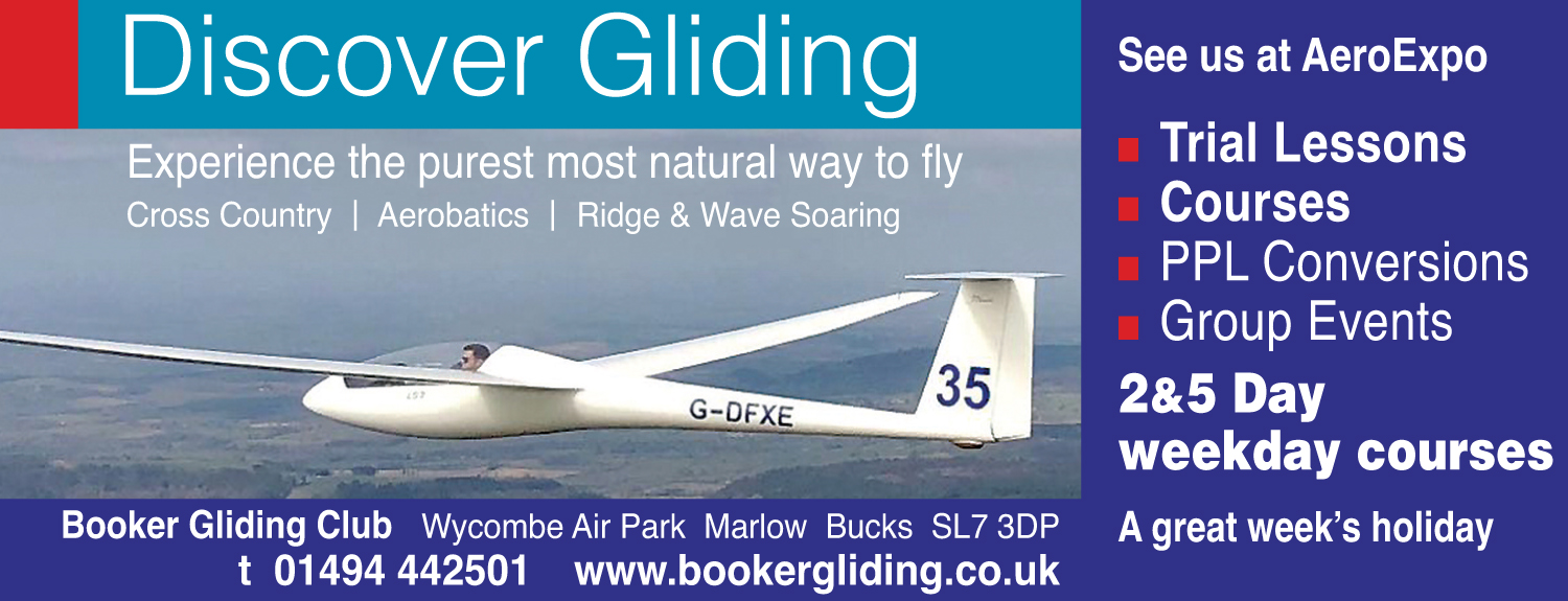 Discover gliding at Booker
