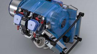 Scalewings hybrid engine