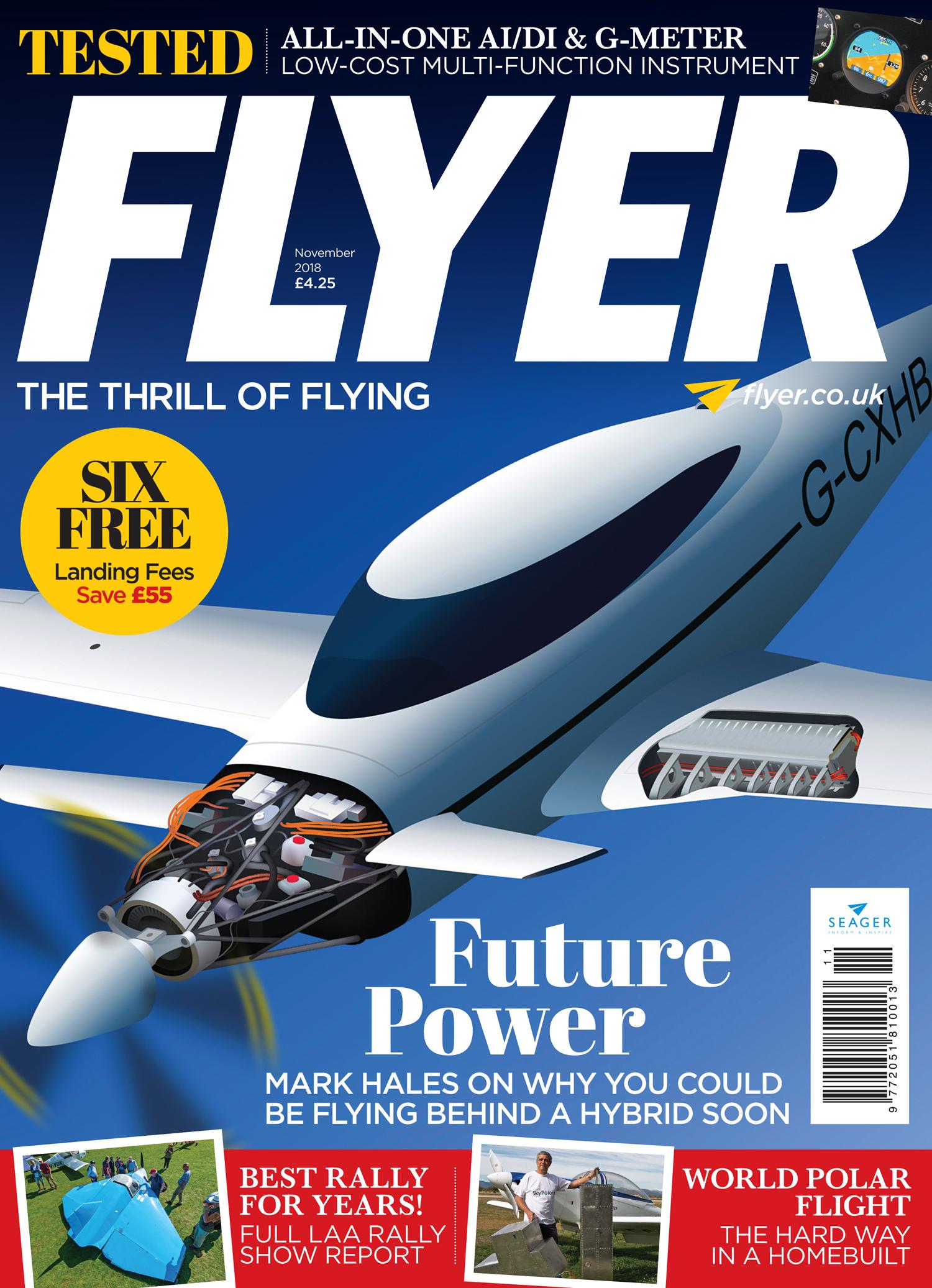 FLYER November 2018 cover