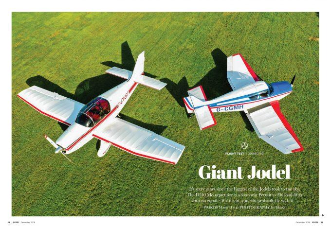Jodel D140 flight test