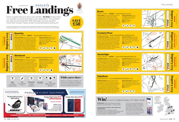 free landing fees