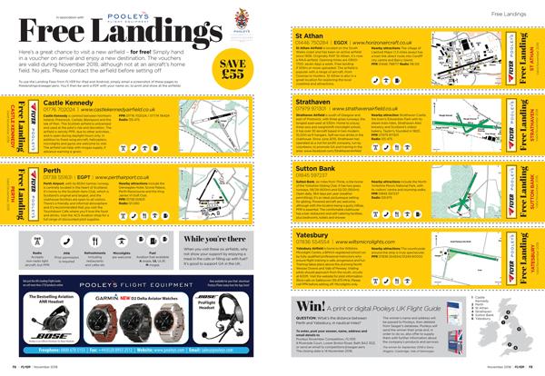 FLYER free landings November 2018
