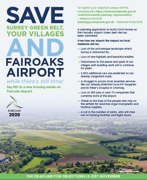 Save Fairoaks Airport