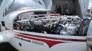 DeltaHawk diesel engine