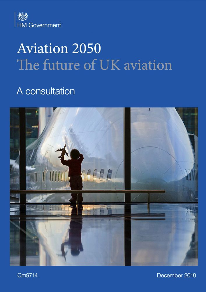 UK govt aviation strategy green paper 2018