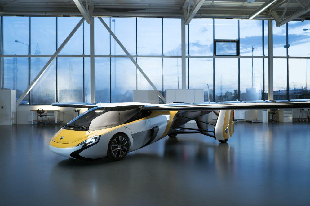 AeroMbil 4.0 flying car