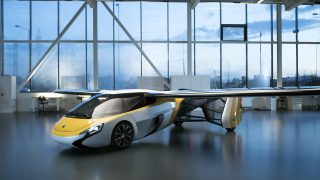 AeroMbil 4.0 flying car