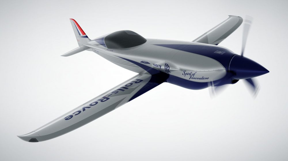 Rolls-Royce electric aircraft