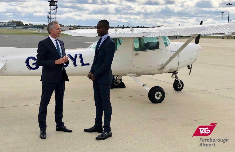 TAG Farnborough Airport flying scholarship 2019
