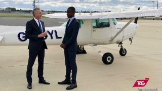 TAG Farnborough Airport flying scholarship 2019