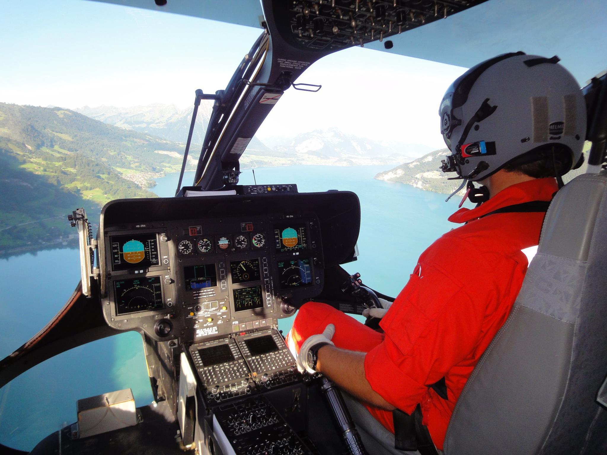 Rega helicopter