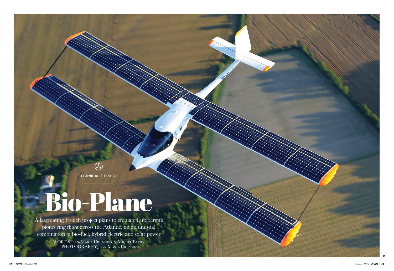 Eraole hybrid electric aircraft