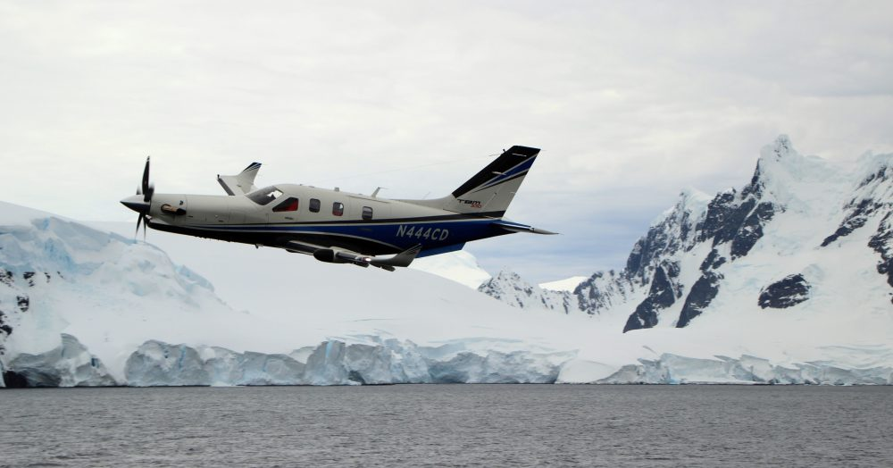 TBMs over South Pole
