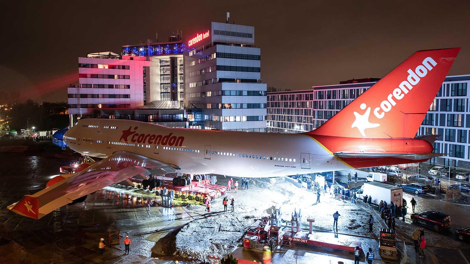 Corendon Hotel Boeing 747