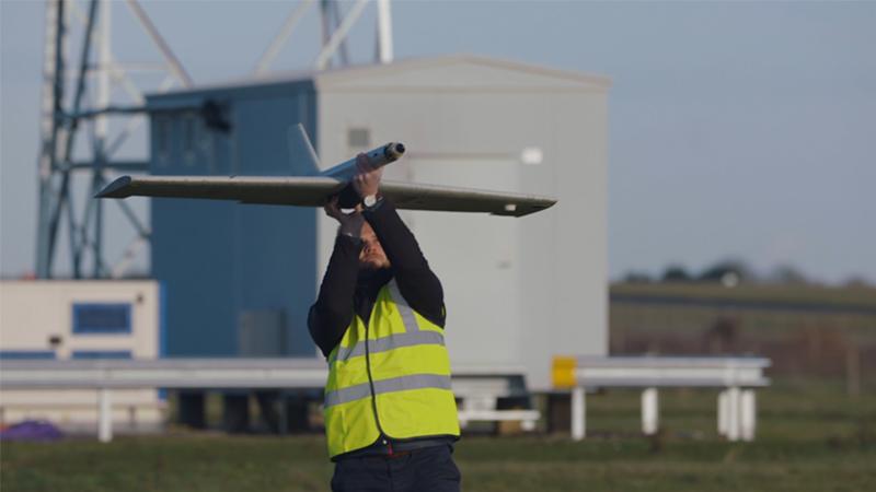 Cranfield drones test flights