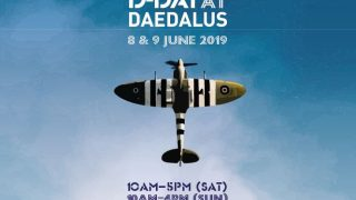 D-Day 75 Daedalus poster