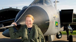 Kirsty Murphy Tornado GR4 farewell