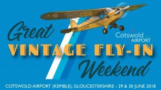 Great Vintage Fly-in Weekend 2019